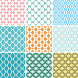 seamless ornament patterns