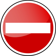 Traffic Sign - forbidden