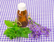 lavender and spearmint