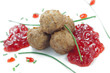 Swedish meatballs with lingoberries jam - Polpette svedesi