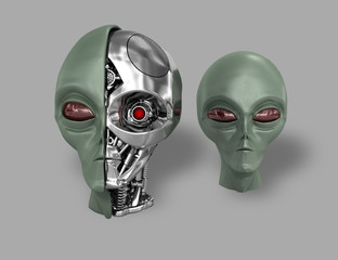 alien cyborg 7