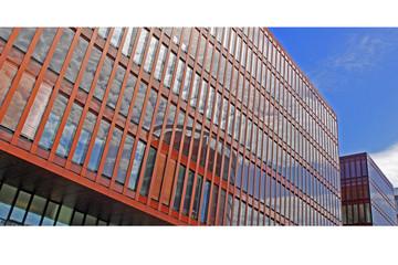 Moderne Fassade - Hafencity Hamburg