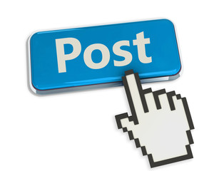 Post button with hand cursor