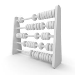 3D Rechenschieber Weiß 2