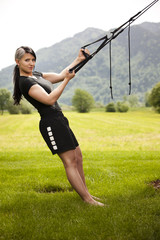 Training im Freuen mit Aero Sling