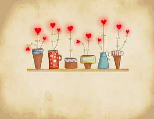 Planted Hearts