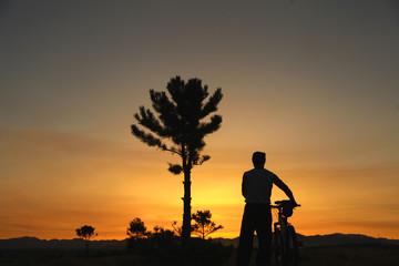 bike to start the day