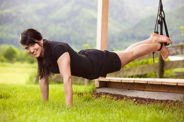 Halteübung für Rücken und Bauch