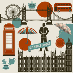 London Landmarks, Symbols and Icons
