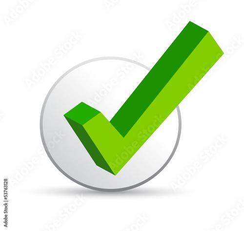 Grüner Haken - Checkmark