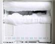 Leinwanddruck Bild - Trouble of refrigerator