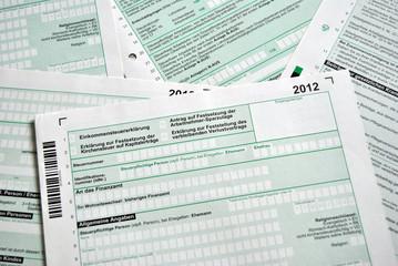 Steuererklärung 2012