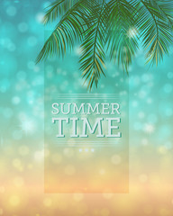Summertime Bokeh Background