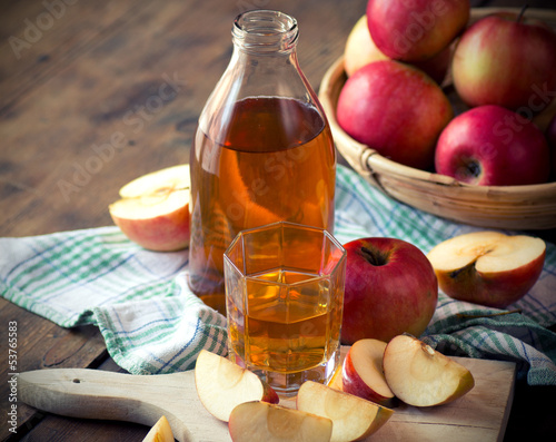 Apples and Apple Juice.