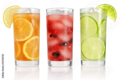 Summer drinks with ice - 53765721
