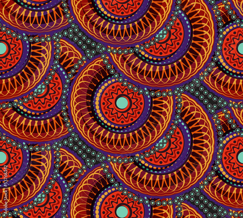 Keuken foto achterwand Kunstmatig Seamless african geometric pattern