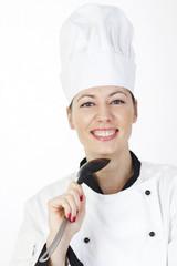 Weiblicher Chefkoch