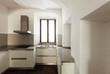 interior rustic house, kitchen