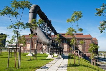 Industriekultur, Phönix West, Dortmund, Deutschland
