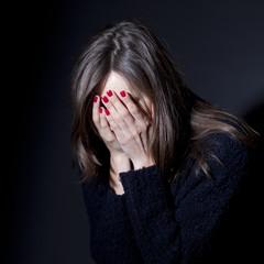Missbrauchte Frau