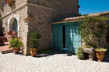 détail villa méditérranéenne