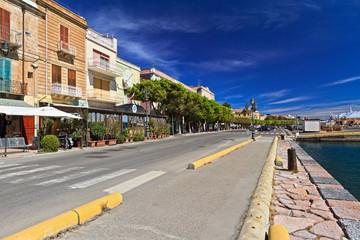 Sardinia - promenade in Carloforte