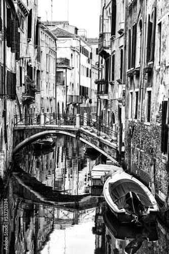 Venetian Canal. Italy - 53770394