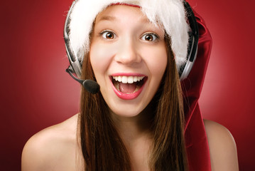 Miss Santa's calling you!