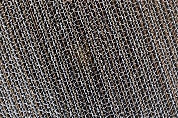 diagonal corrugated cardboard texture