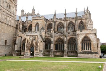 cattedrale di San Pietro a Exeter in Cornovaglia