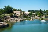Les jardin d' Adrien à Servian dans l' Hérault