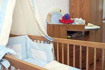 eingerichtetes Kinderzimmer