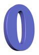 Açık mavi 0 tasarımı