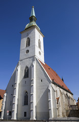 St. Martins cathedral in Bratislava, Slovakia
