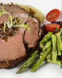 Beef Roast With Asparagus