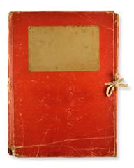 old red folder