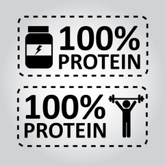 protein labels