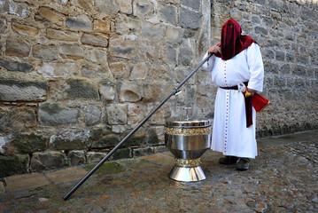 Semana Santa de Baeza, gran incensario
