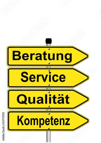 Beratung Service Qualität Kompetenz