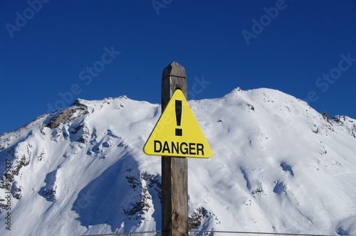 danger -avalanches
