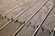 Diagonal Wooden Deck