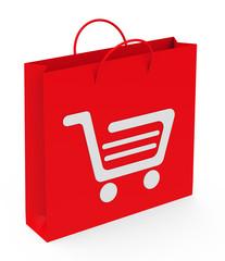 Die Einkaufstüte