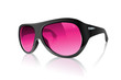 Cool Realistic Pink Plastic Black Sunglasses