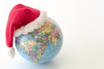 Xmas Globe - Africa and Asia