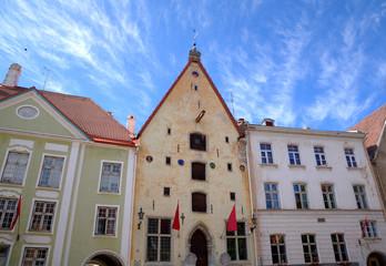 Guild House in Old city. Tallinn, Estonia.