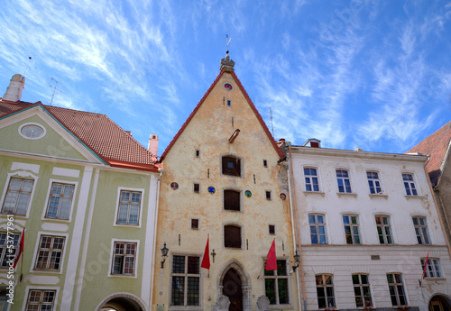 Guild House in Old city. Tallinn, Estonia.