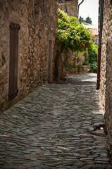 Ruelle village de Minerve dans l' Hérault