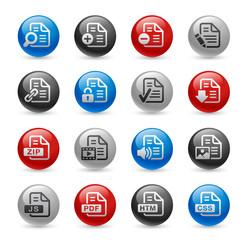 Documents Icons - Set 1 -- Gel Pro Series