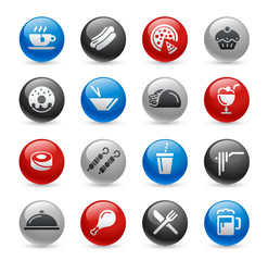 Food Icons - Set 2 -- Gel Pro Series