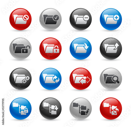 Folder Icons - Set 1 -- Gel Pro Series